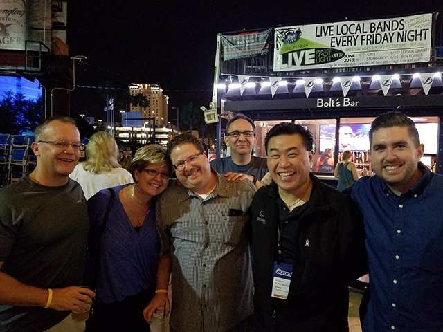 GPUG 2016 after hours in Tampa FL