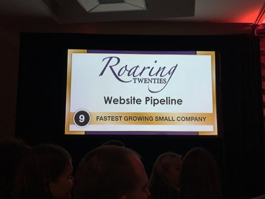 Website Pipeline Fastest Growing Company in South Carolina