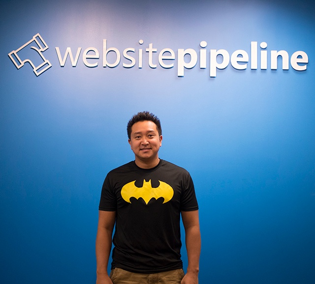 Hieu designer at website pipeline