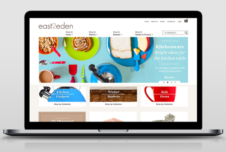 Well designed layout e-commerce